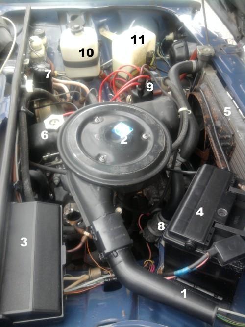 под капотом ваз 2107 инжектор фото