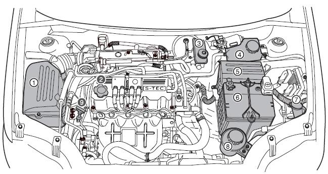 Двигатель шевроле авео 1.2 схема 504