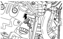 Проверка уровня моторного масла на Авео