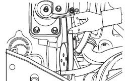 Проверка ремня привода генератора Шевроле Авео