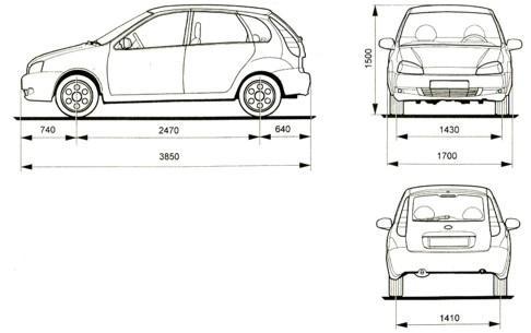 ВАЗ-1119 (5-дверный хэтчбек)